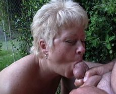 Outdoor Blowjob
