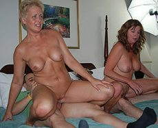 A Hot Milf Sandwich