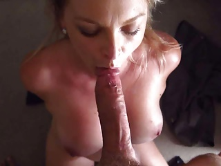 Blonde POV Blowjob