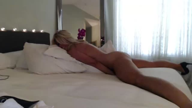 Hot Blonde Wife