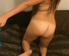 Busty Babe Homemade Blowjob