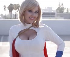 Angie Griffin Cosplays: Power Girl