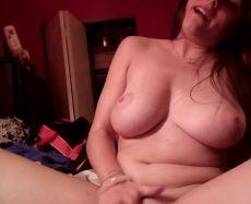 Busty Wife Webcam Masturbation