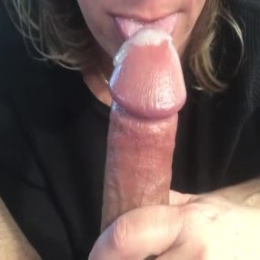 Precum and swallow