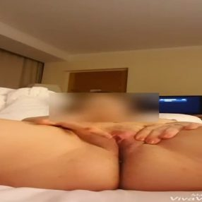 My wife love masturbation