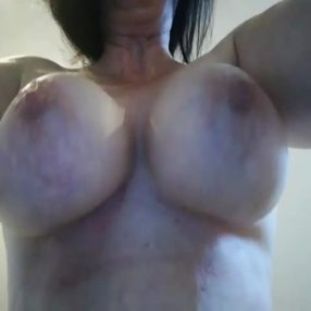 Wife Bounces her Big Tits
