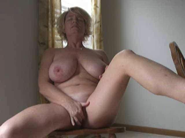 Busty Wife Masturbating