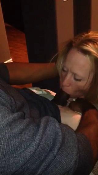 Cheating Wife Sucking Big Black Cock