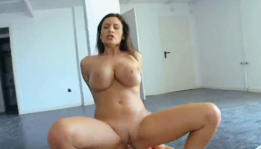 Busty Babe Rides Cock