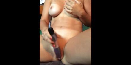 Hot amateur wife masturbating
