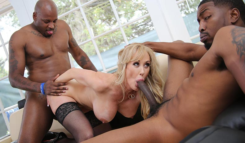 Real Amateur Black Threesome