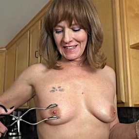 Cougar in the kitchen