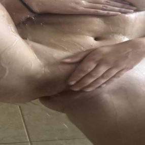 Hot Mom in the Shower