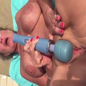 Wife's big pussy having an orgasm