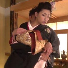 Sweet Japanese Geisha Fucked