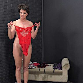 Cougar in Sexy Lingerie
