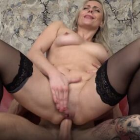 Hot Blonde Cougar Brittany Bardot Anal