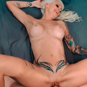Blonde Cougar Sophie Logan Fucked