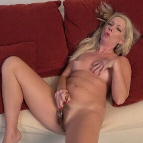 Blonde Cougar Meredith Solo Play